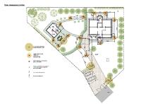 План освещения участка